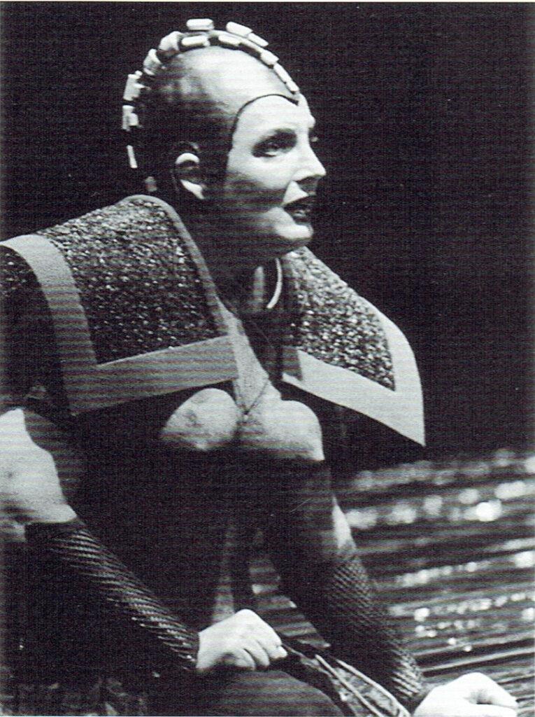 Brynhildur (Deborah Polanski)Valkyrjan. Bayreuth 1995