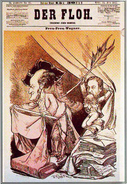 Wagner að velja silki.