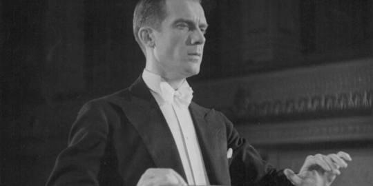 Alois Melichar, hljómsveitarstjóri.