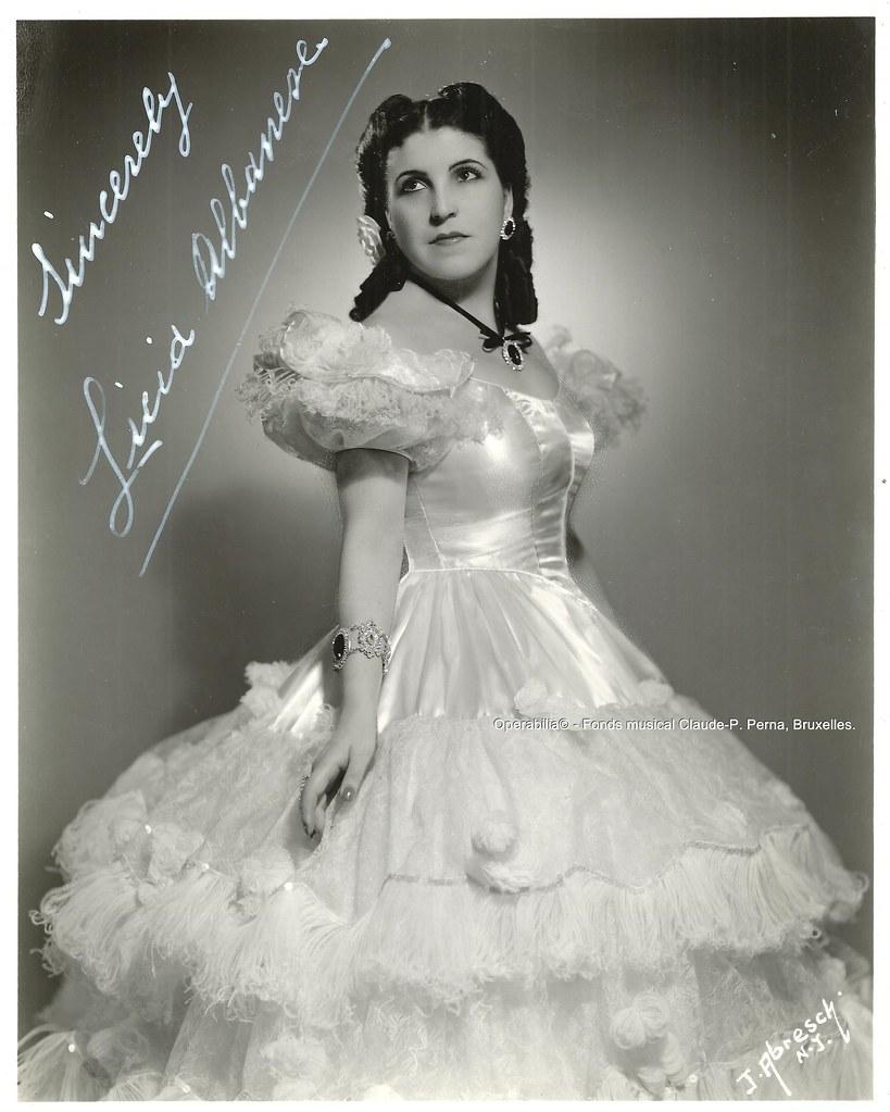Lucia Albanese sem Violetta.