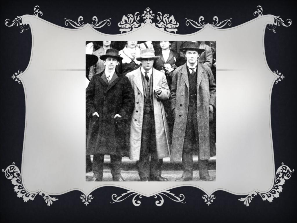 Frá vinstri: Alexander Zemlinsky, Arnold Schoenberg, Franz Schreker