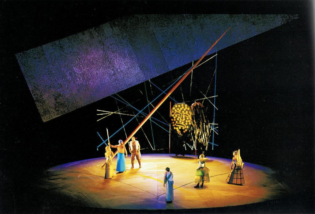 Niflungahringurinn í Bayreuth.Rínargullið