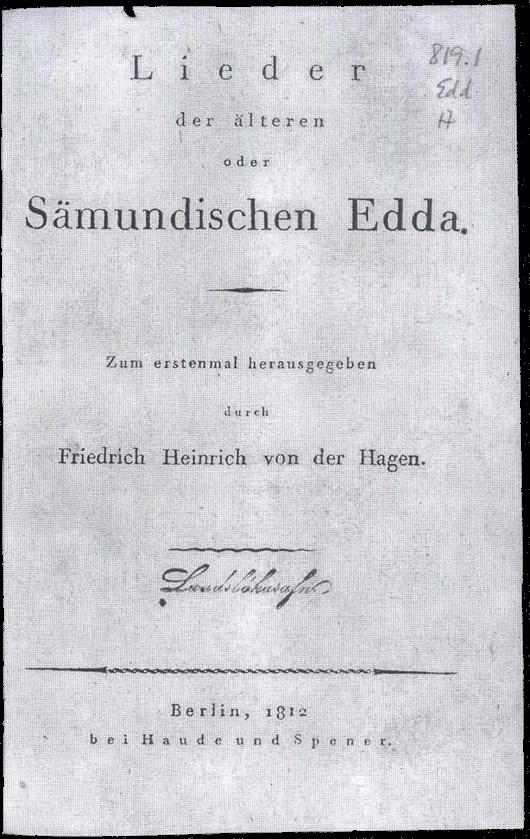 Sæmundar Edda